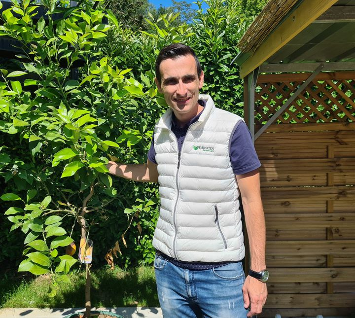 Clément Bailly, chef de groupe marketing chez Evergreen Garden Care. (DR / RADIO FRANCE / FRANCE INFO)