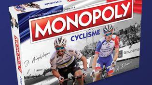 """Un jeu du """"Monopoly Cyclisme"""". Photo d'illustration. (Groep24 et Squadra)"""