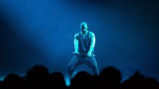 Drake est lancé à pleine vitesse dans une tournée européenne qui fait escale pour trois soirs à l'AccorHotels Arena de Paris (MAXPPP)