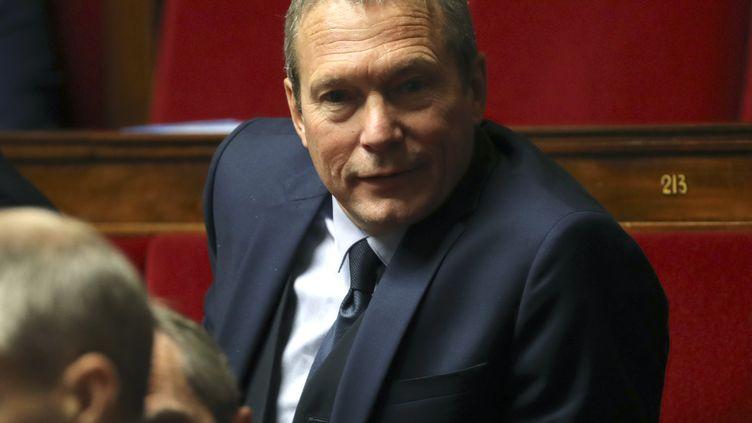 Jean-Michel Fauverguesiège à l'Assemblée nationale à Paris, le 28 novembre 2018. (JACQUES DEMARTHON / AFP)