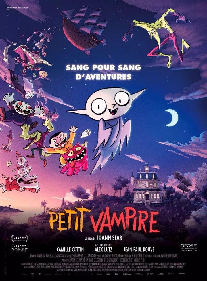 """L'affiche de """"Petit vampire"""" de Joann Sfar. (STUDIOCANAL)"""