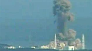 La centrale de Fukushima, le 14 mars 2011. (AFP/HO / NHK)