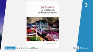 La couvreture du nouveau livre de Joël Dicker (France 3)