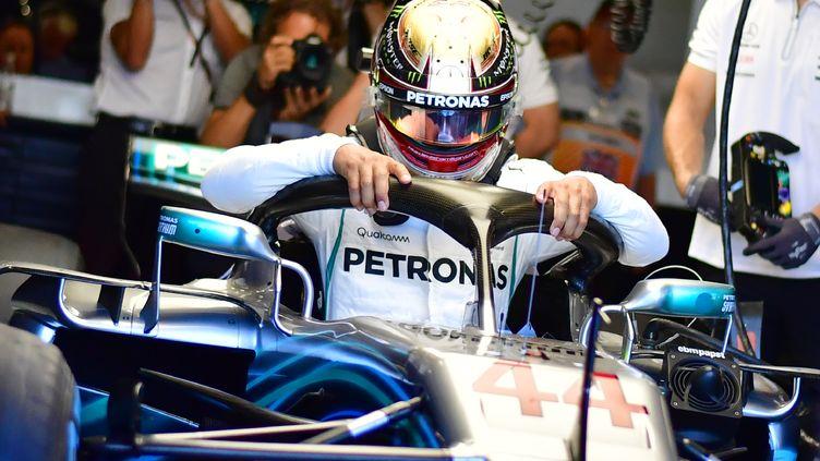 Lewis Hamilton (Mercedes) (ANDREJ ISAKOVIC / AFP)