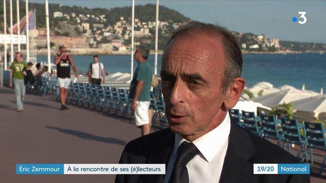 Politique : Éric Zemmour à la rencontre de ses lecteurs à Nice