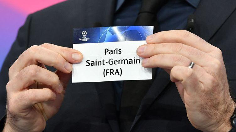 Le Paris Saint-Germain attend son adversaire pour les quarts de finale (HAROLD CUNNINGHAM / UEFA)