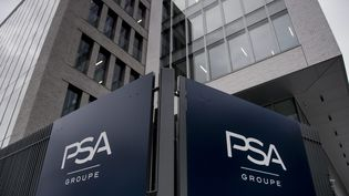 Le siège du groupe PSA à Rueil-Malmaison, près de Paris (illustration) (MAXPPP)