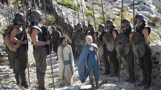 """Un photo extraite d'un épisode la saison 4 de la série """"Game of Thrones"""". (ARCHIVES DU 7EME ART / AFP)"""