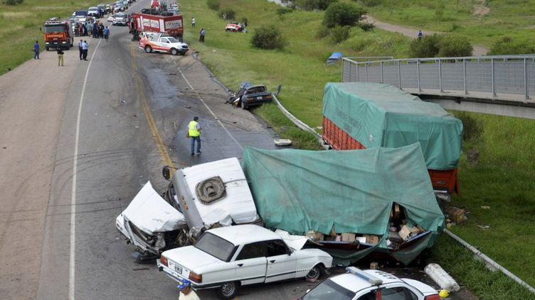 Le camion d'assistance de la voiture de Lionel Baud, impliqué dans un nouvel accident mortel