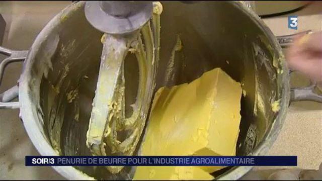 Pénurie de beurre pour l'industrie agroalimentaire