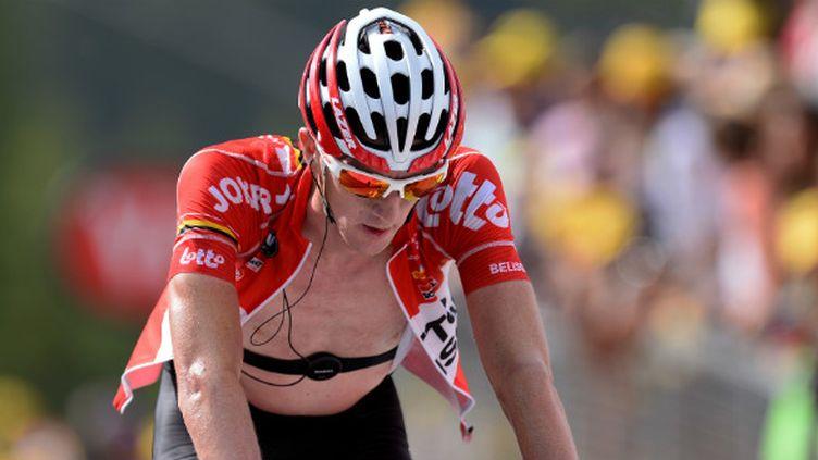 Malade, 'VDB' ne terminera probablement dans le Top 10 du Tour de France 2014