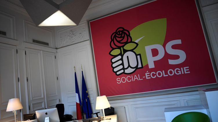 Vue d'un bureau du Parti socialiste, dans les anciens locaux rue de Solférino, à Paris, le 18 décembre 2017. (STEPHANE DE SAKUTIN / AFP)