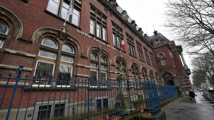 L'Institut Pasteur de Lille (Nord), le 16 mars 2021. (MAXPPP)