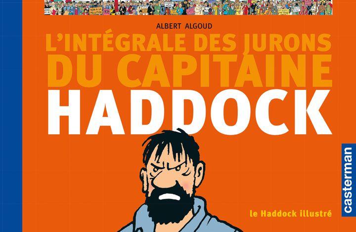 """Couverture """"Le Haddock illustré, l'intégrale des jurons du Capitaine Haddock (CASTERMAN)"""