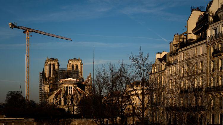La cathédrale Notre-Dame de Paris le 6 janvier 2020. (PHILIPPE LOPEZ / AFP)