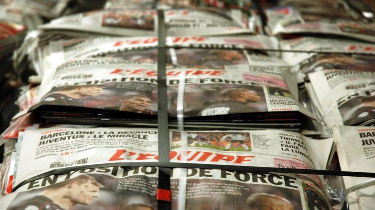 Le quotidien L'Equipe (COUDERC BRUNO / MAXPPP)