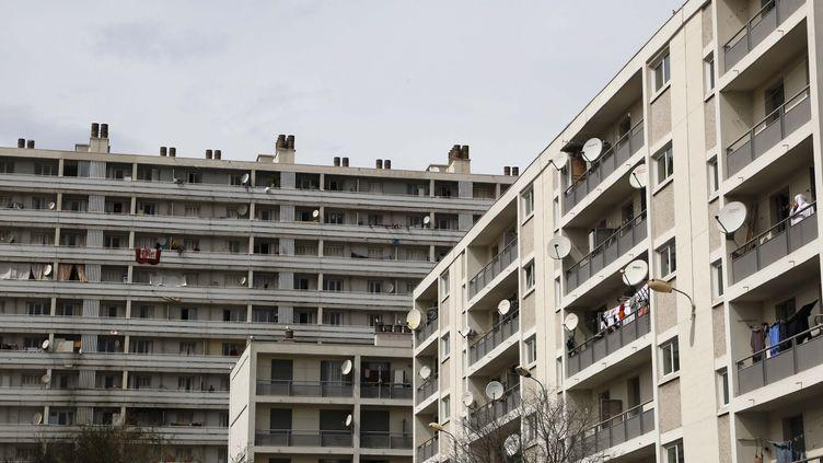 La cité Félix-Piat, à Marseille. (SOLLIER CYRIL / MAXPPP)