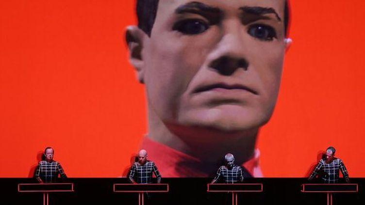 Kraftwerk à Dusserldorf en janvier 2013  (Oliver Berg / AFP)