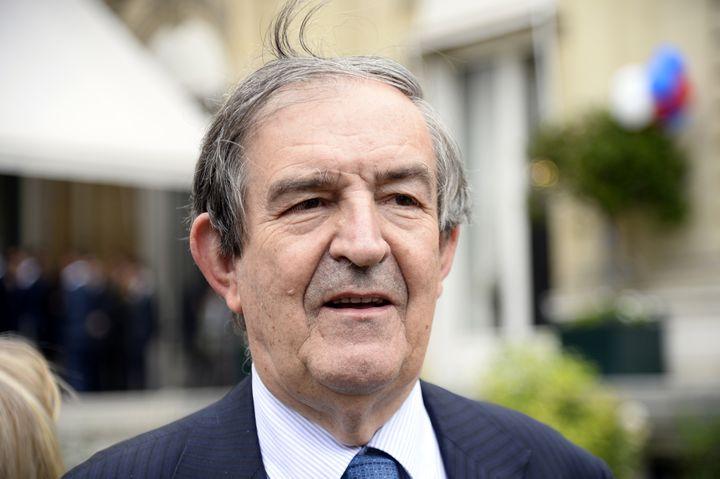 L'ancien juge antiterroriste Jean-Louis Bruguière, le 30 juin 2014 à Paris. (BERTRAND GUAY / AFP)