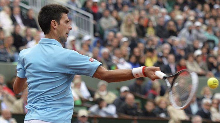 Novak Djokovic  (MIGUEL MEDINA / AFP)