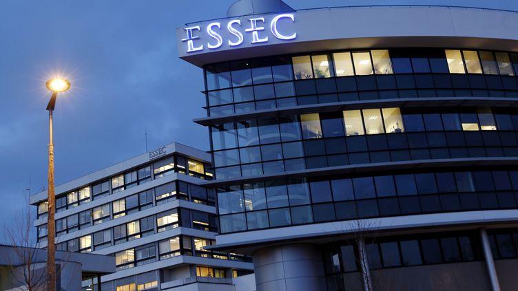 Le campus de l'Essec de Cergy-Pontoise, le 30 novembre 2010. (MAXPPP)