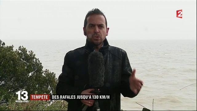 Tempête Carmen : de fortes rafales attendues en Loire-Atlantique et en Vendée