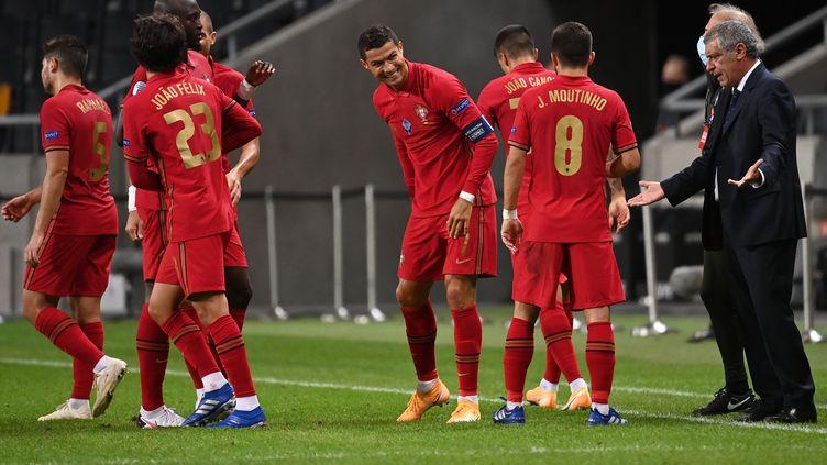 L'équipe du Portugal a évolué depuis son sacre à l'Euro en 2016 (JONATHAN NACKSTRAND / AFP)