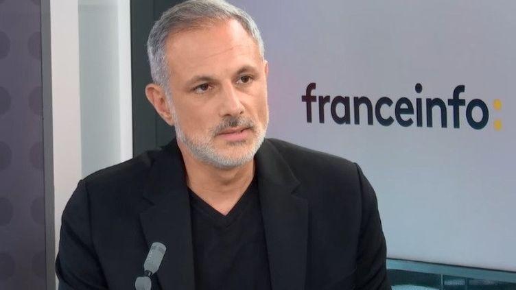 Philippe Corrot, président et cofondateur de Mirakl, invité de franceinfo le 23 septembre 2020 (FRANCEINFO / RADIO FRANCE)