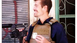 Une photo du journaliste James Foley mise en ligne par ses parents sur le site internet Freejamesfoley.com. (NICOLE TUNG)