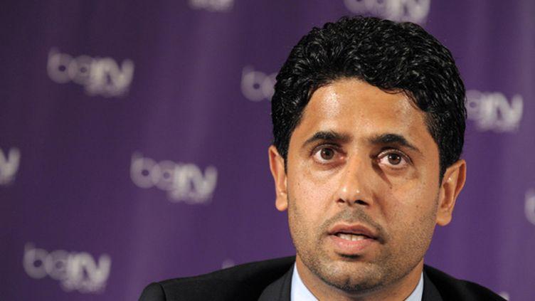 Nasser Al Khelaifi (PSG) (ERIC PIERMONT / AFP)