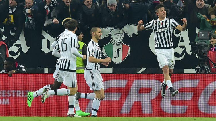 La rage de vaincre de Paulo Dybala (Juventus Turin) (GIUSEPPE CACACE / AFP)