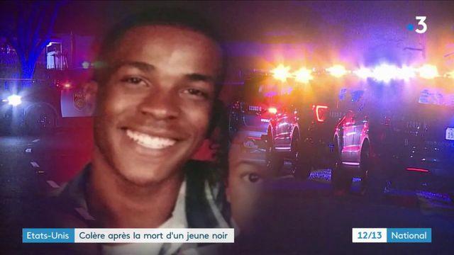 États unis : colère après la mort d'un jeune homme noir