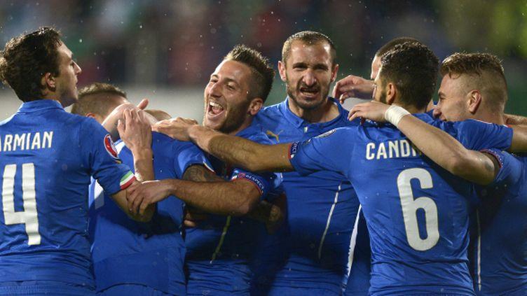 En Bulgarie, l'Italie a ouvert le score dès la 3e minute, grâce à un but contre son camp de Minev.