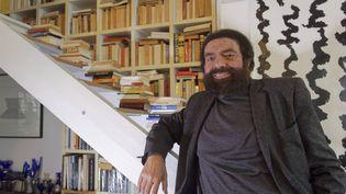 L'écrivainMarek Halter, ci-contre en 2019. (DANIEL FOURAY / MAXPPP)