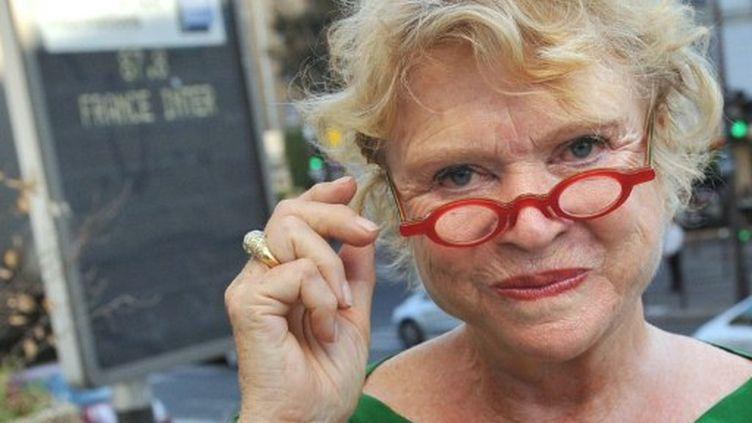 Eva Joly, candidate d'Europe Ecologie-Les Verts à l'élection présidentielle (JOHANNA LEGUERRE / AFP)