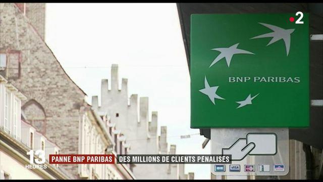 BNP Paribas : des millions de clients pénalisés par une panne