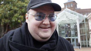 Kim Schmitz alias Kim Dotcom, le fondateur de Megaupload, à Auckland (Nouvelle-Zélande), le 29 février 2012. (SIMON WATTS / REUTERS)