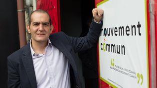 """Le député PS Pouria Amirshahi, le 8 novembre 2015 à Montreuil (Seine-Saint-Denis), à l'occasion du lancement du rassemblement """"Mouvement commun"""". (MAXPPP)"""