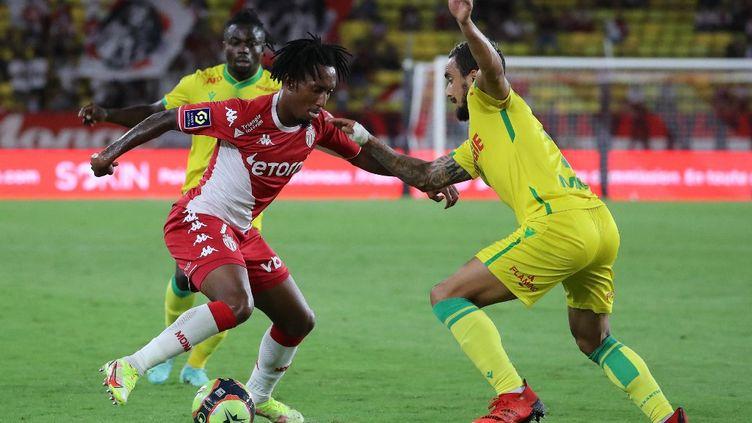 Gelson Martins est le premier buteur de la saison 2021-2022 de Ligue 1. (VALERY HACHE / AFP)