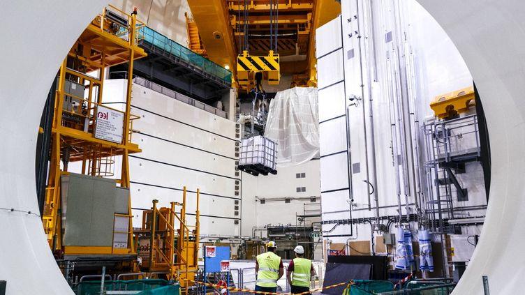 Le réacteur OL3 dela centrale d'Olkiluoto, en Finlande, le 17 août 2017. (ANTTI YRJONEN / NURPHOTO / AFP)