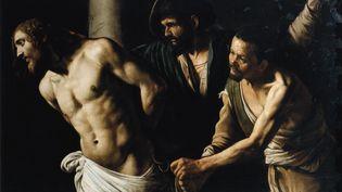 Le tableau Le Christ à la colonne ou La flagellation du Christ, deMichelangelo Merisi dit Le Caravage ou il Caravaggio (1571-1610), Musée des Beaux-Arts de Rouen (LEEMAGE / AFP)