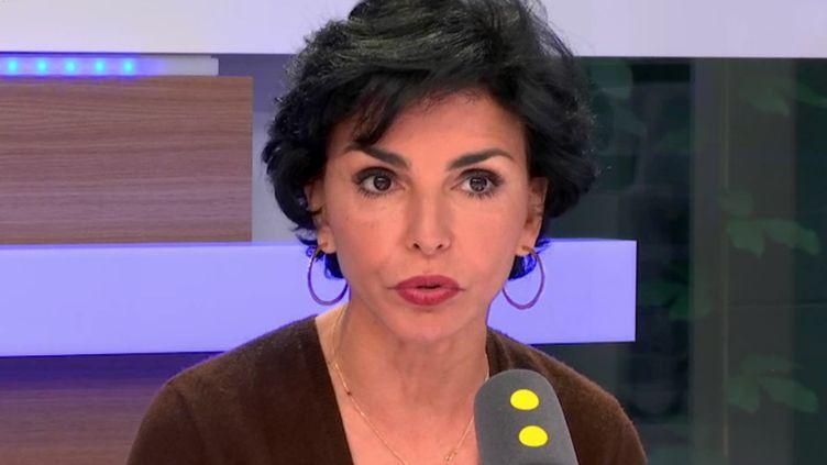 Rachida Dati était l'invitée de franceinfo. (FRANCEINFO)