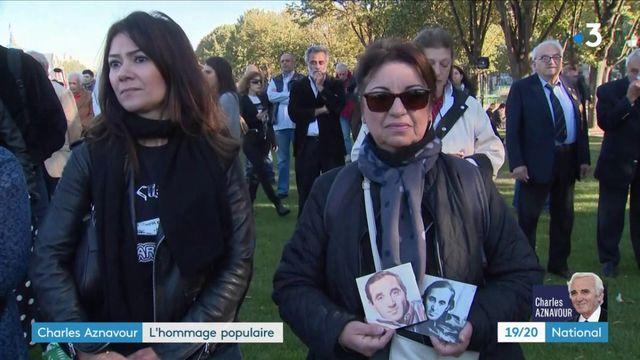 Charles Aznavour : l'adieu des Français