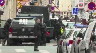BRI après prise d'otage, Paris, 12 juin 2018. (FRANCE 2)