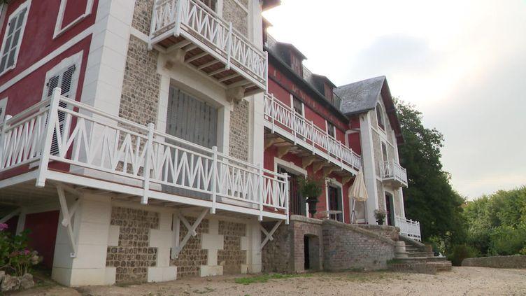 La villa Orphée à Etretat, maison secondaire d'Offenbach. (D. Commodi / France Télévisions)