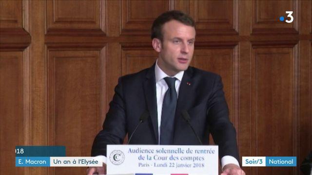 Emmanuel Macron : un an à l'Élysée