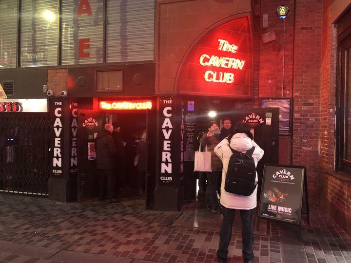 Le Cavern Club à Liverpool, lieu de pélerinage pour les fans des Beatles du monde entier. (YANN BERTRAND / RADIO FRANCE)