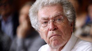 Pierre Joxe, l'ancien ministre de la Justice et de l'Intérieur, en 2012. (THOMAS SAMSON / AFP)