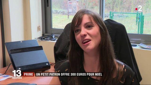 Nord : un petit patron offre 300 euros de prime pour Noël