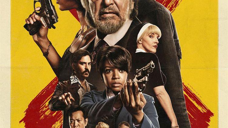"""L'affiche de la série """"Hunters"""" avec Al Pacino. (AMAZON PRIME VIDEO)"""